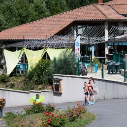 restaurant camping les prades